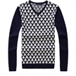 Oem cashmere sweater v-neck sweater long sleeve sweater