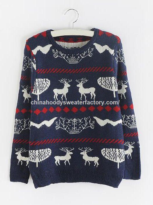 Promocional mujeres de encargo 100% algodón iluminadas suéter ...