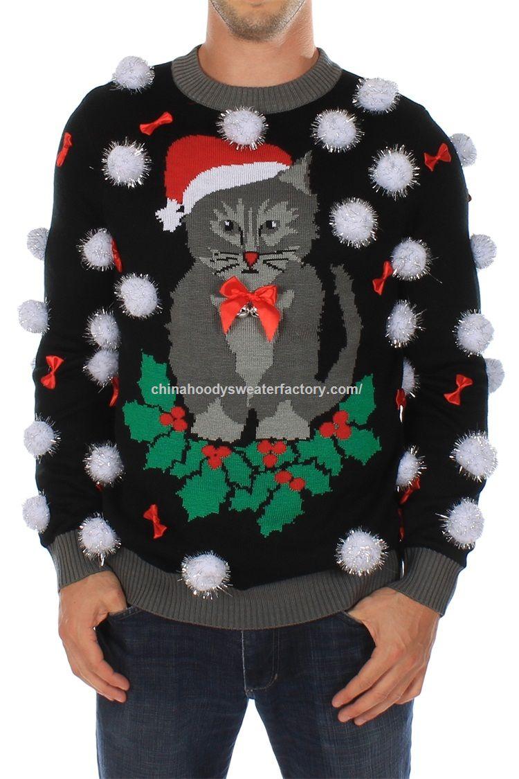 Promocional Equipo para hacer punto Pullover Adultos suéter de la ...