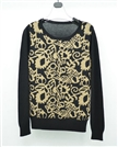 Latest Design Winter Print Sweater For Women