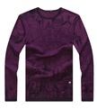 Men's wool and digital printing wholesale sweater