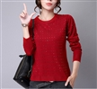 Designer hot sell ladies oversize cardigan sweater