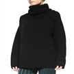Fashion Oversize Knit Turtleneck Sweater For Women