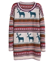 Pattern oversized christmas sweater knitting patterns sweater