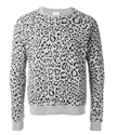 oem mens 100% cotton camo leopard print united states sweaters