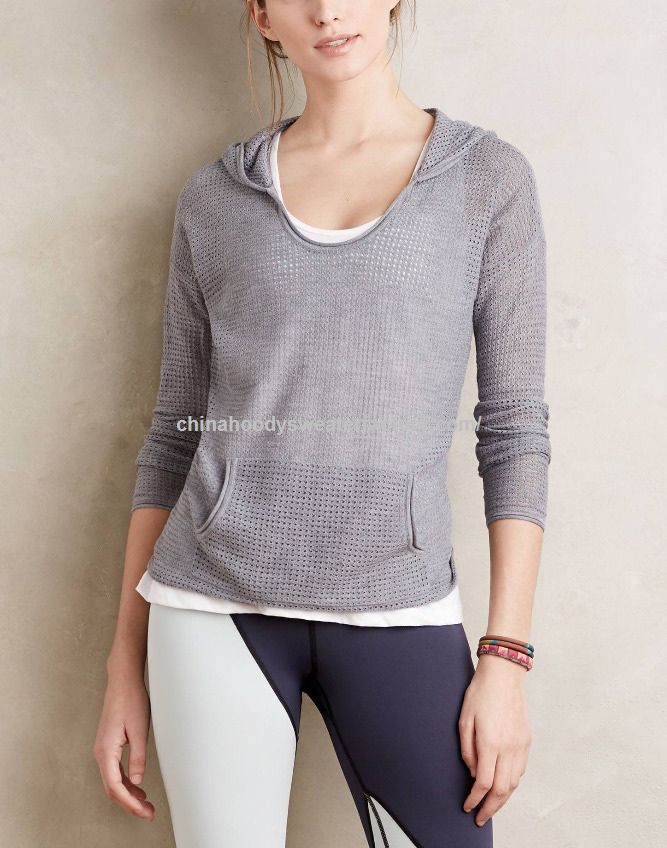 blank mesh pullover hoodie dry fit lightweight sports hoodies for women