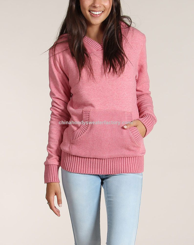 pink with pocket plain sweater plain sweater hoodies