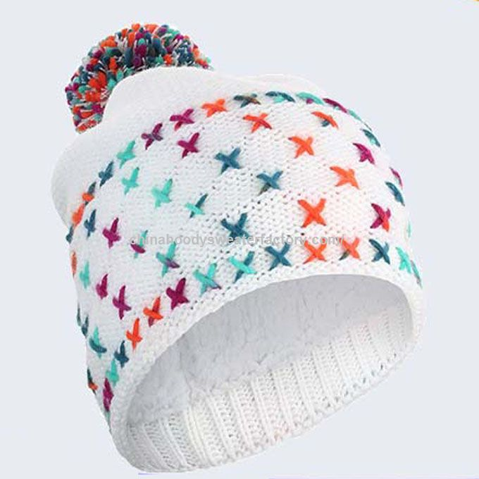 Best Selling Adults Thin Cotton Beanie Custom Knit Hat