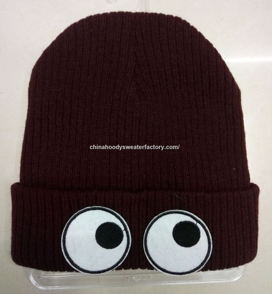Wholesale cheap custom knit hat from china