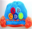 Custom colorful knitted beanie hat baby boy knitted hat